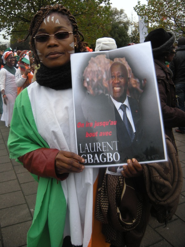 Gbagbo supporter