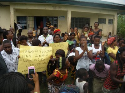 Ikebere protesters